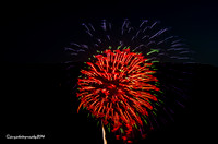 Bear Mt   & Haverstraw  Fireworks 2014